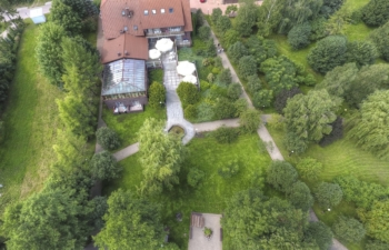 Pensjonat Teresa i okolice z lotu ptaka